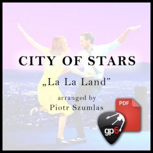 city of stars la la land tabs