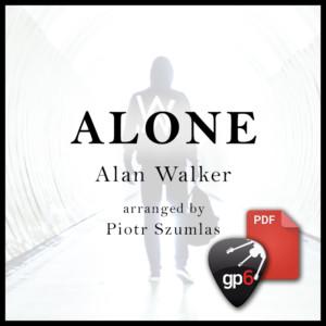 alan walker alone tabs