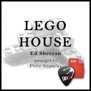 lego house ed sheeran fingerstyle piotr szumlas