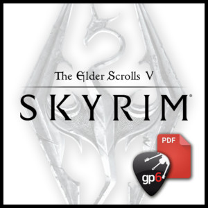 the dragonborn comes fingerstyle skyrim